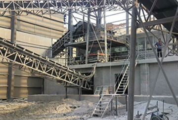 150TPH Granite Crushing Line