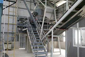 Shandong 60-70TPH limestone sand production line