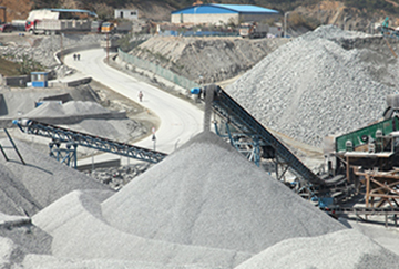 Southeast Asia 1000-1200TPH Granite Crushing Line