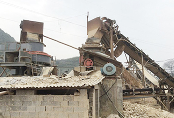 100TPH Pebble Crushing Line