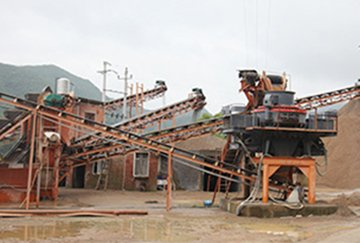 80TPH Granite Crushing Line