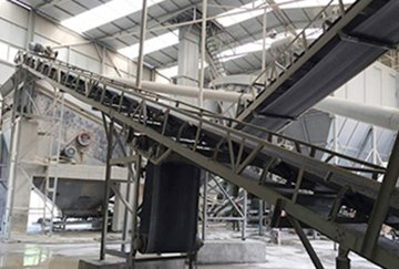 100TPH Tailings Crushing Plant