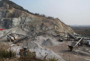 Abroad 350TPH Limestone Crushing Line