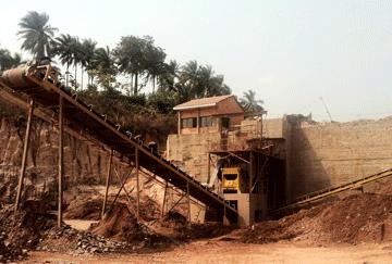 Congo 100-120TPH Granite Crushing Line