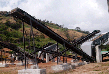 Guinea 220TPH Granite Crushing Plant