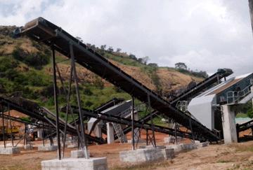 Guinea 220TPH Granite Crushing Line