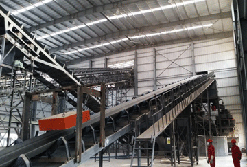 400TPH Granite Crushing Line