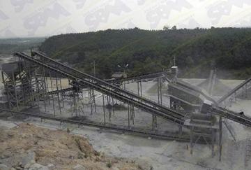 Myanmar 300TPH Granite Crushing Line
