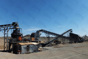 Mongolia 350TPH Granite Crushing Line
