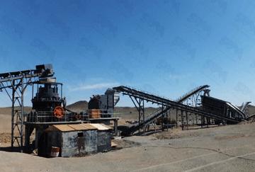 Mongolia 350TPH Granite Crushing Line
