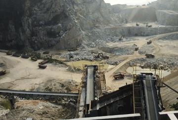 Malaysia 500TPH Granite Crushing Line