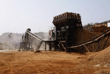 Mali 50TPH Hill Stone Crushing Line