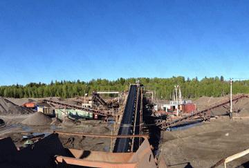 Russia 280-300TPH Pebble Crushing Line