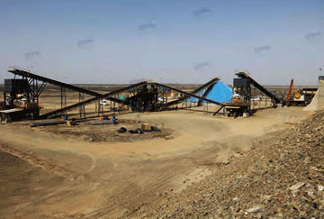 Saudi Arabia 350TPH Gold Ore Crushing Line