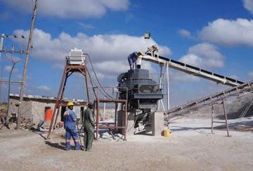 Zambia 50TPH Limestone Crushing Line