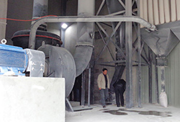 Annual output of 100000 tons of limestone for power plant desulfurizer production line in Jiangsu