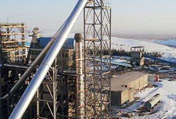 30TH high-efficient coal preparation & production line of cement plant in Jordan Lafarge Group