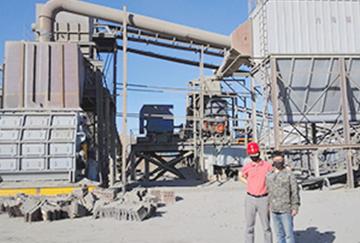HPT300 fine crushing technical improvement project of Inner Mongolia Zhongxing