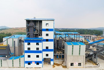 1300,000TPY Quartz Crushing Plant