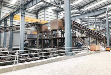 600-800TPH Granite Crushing Line