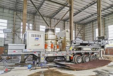 Мобильный комплекс по дроблению строительного мусора