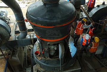 30 т/ч Мельничный комплекс для обработки известняка в Индии