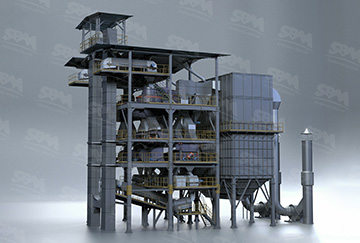 VU Tower-like Sand-making System