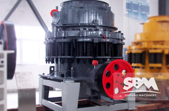 CS Cone Crusher working