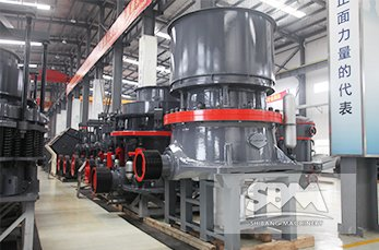 HST Cone Crusher working