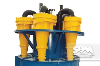 Hydrocyclone equipment