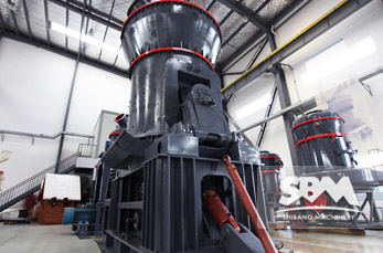 Vertical Roller Mill working