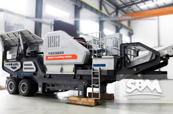 Mobile Jaw Crusher working