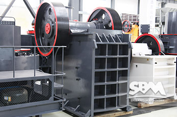 PE Jaw Crusher equipment