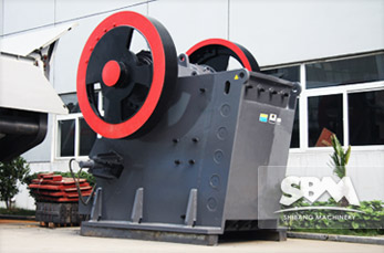 PEW Jaw Crusher equipment