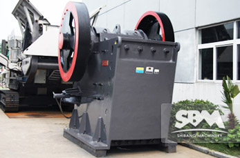 PEW Jaw Crusher application