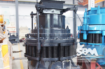 PY Cone Crusher application