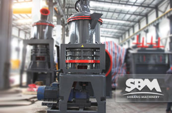 SCM Ultrafine Mill working