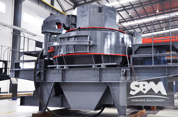 VSI Crusher application