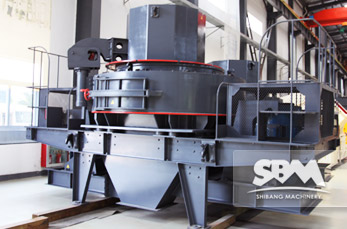 VSI Crusher working