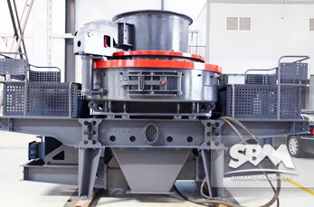 VSI5X Crusher application