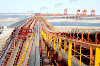 Wharf Belt Conveyor application