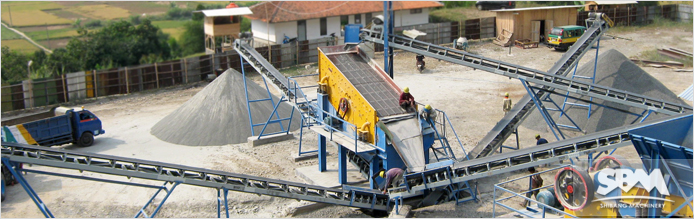 Sand Making Plant Designed by SBM in UAE