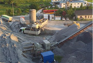 130--200TPH Building Waste Crushing Plant
