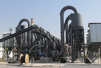 Annual output of 30000 tons of quartz sand-prepared fire-proof material production line in Sichuan
