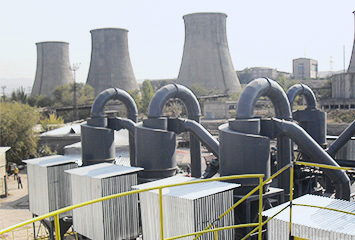 Desulfurization agent production line of limestone power plant in Inner Mongolia with annual output of 0.2 million tons