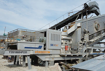 Myanmar 120TPH Granite Crushing Line