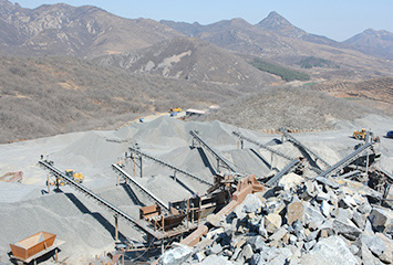 450-500 tph basalt crushing production line in Zhumadian