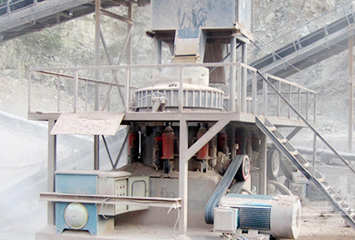 350tph granite crushing plant