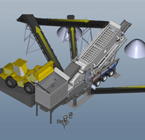 Complete Mobile Crushing Plants Production Process