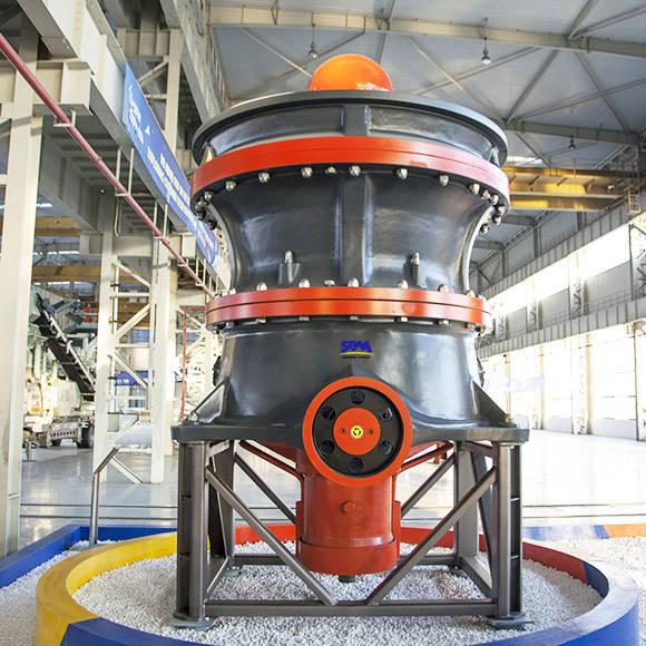 Hst Single Cylinder Hydraulic Cone Crusher Sbm Industrial